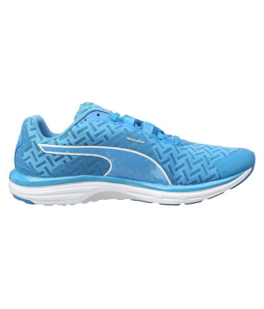 tout neuf 515ce f3e6d Puma Faas 500 V4 Pwrcool Blue Running Shoes - Buy Puma Faas ...