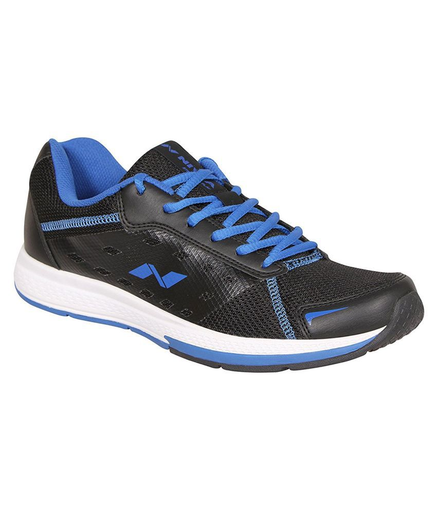 Nivia RS-04 Running Shoes Black & Blue