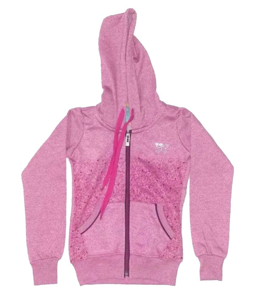 Cuddlezz Pink Fleece Sweatshirt