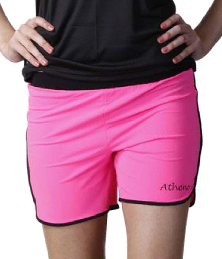 Atheno Womens Sportslycra Gym Shorts
