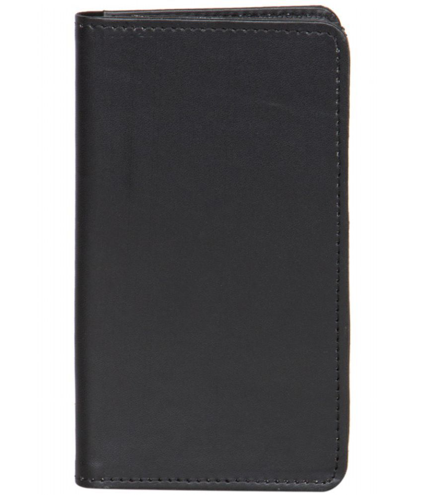 Micromax Doodle 4 Holster Cover by Senzoni - Black
