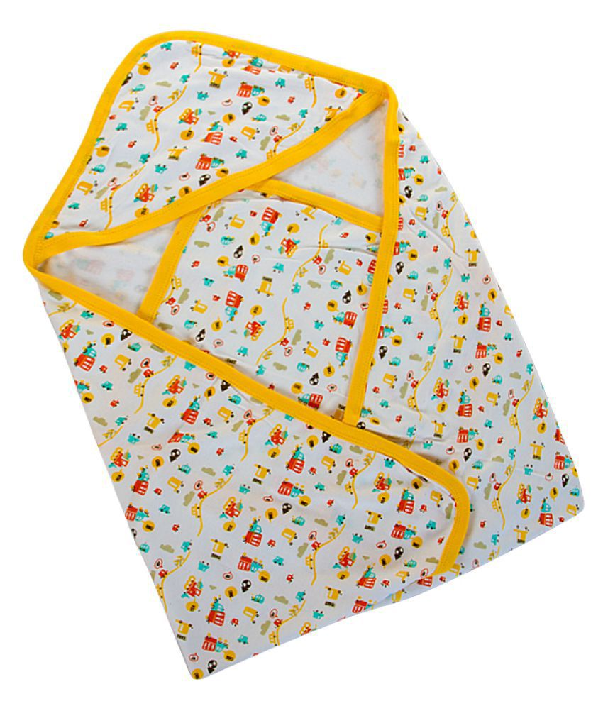 Mee Mee Baby Wrapper Multicolour