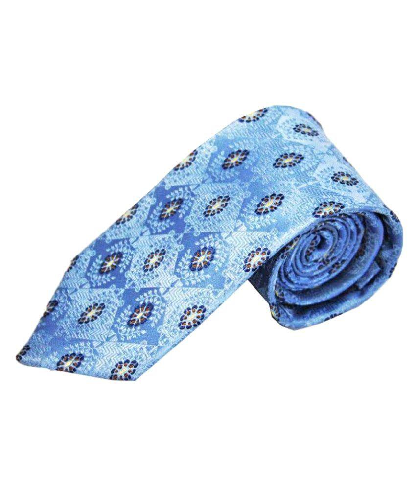 The Vatican Blue Formal Necktie