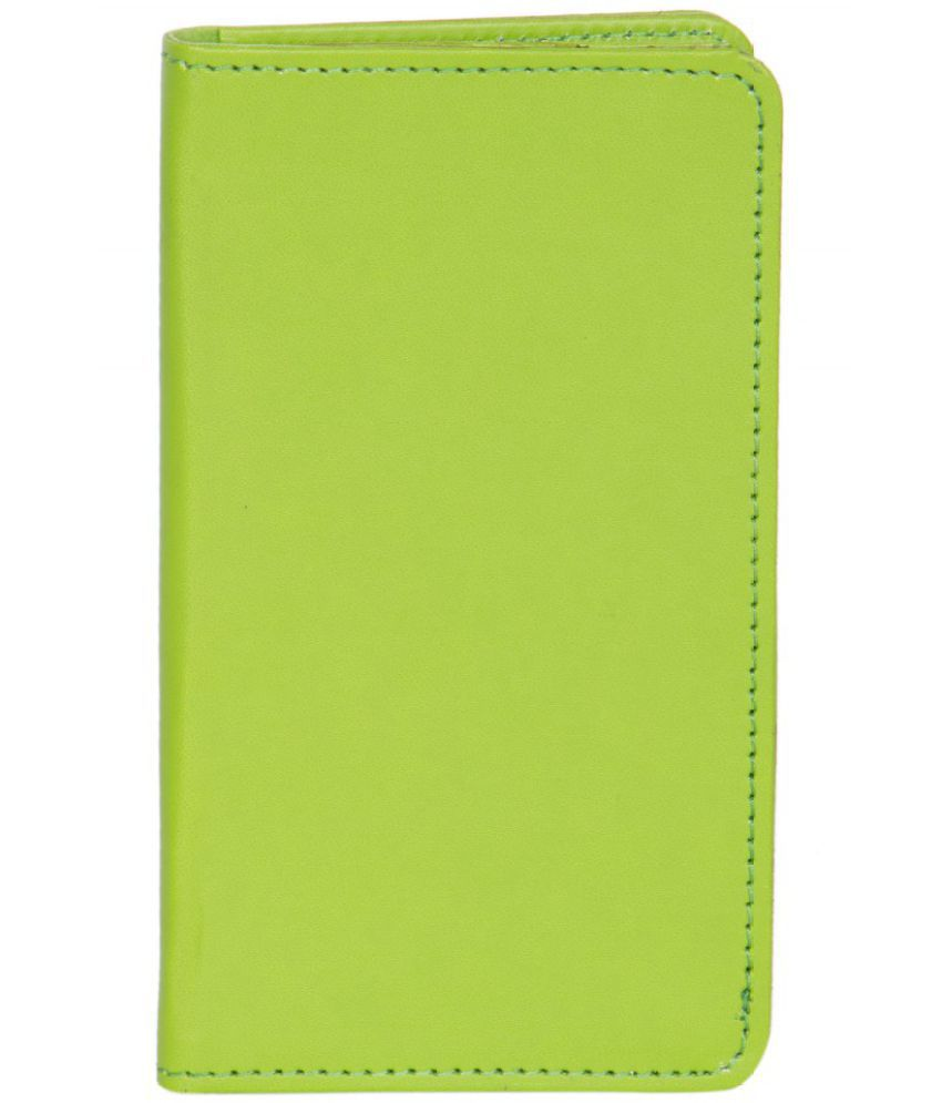 Celkon Campus A35K (2GB) Holster Cover by Senzoni - Green