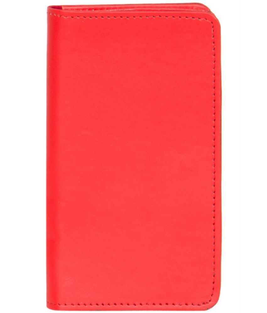 Celkon A58 Holster Cover by Senzoni - Red