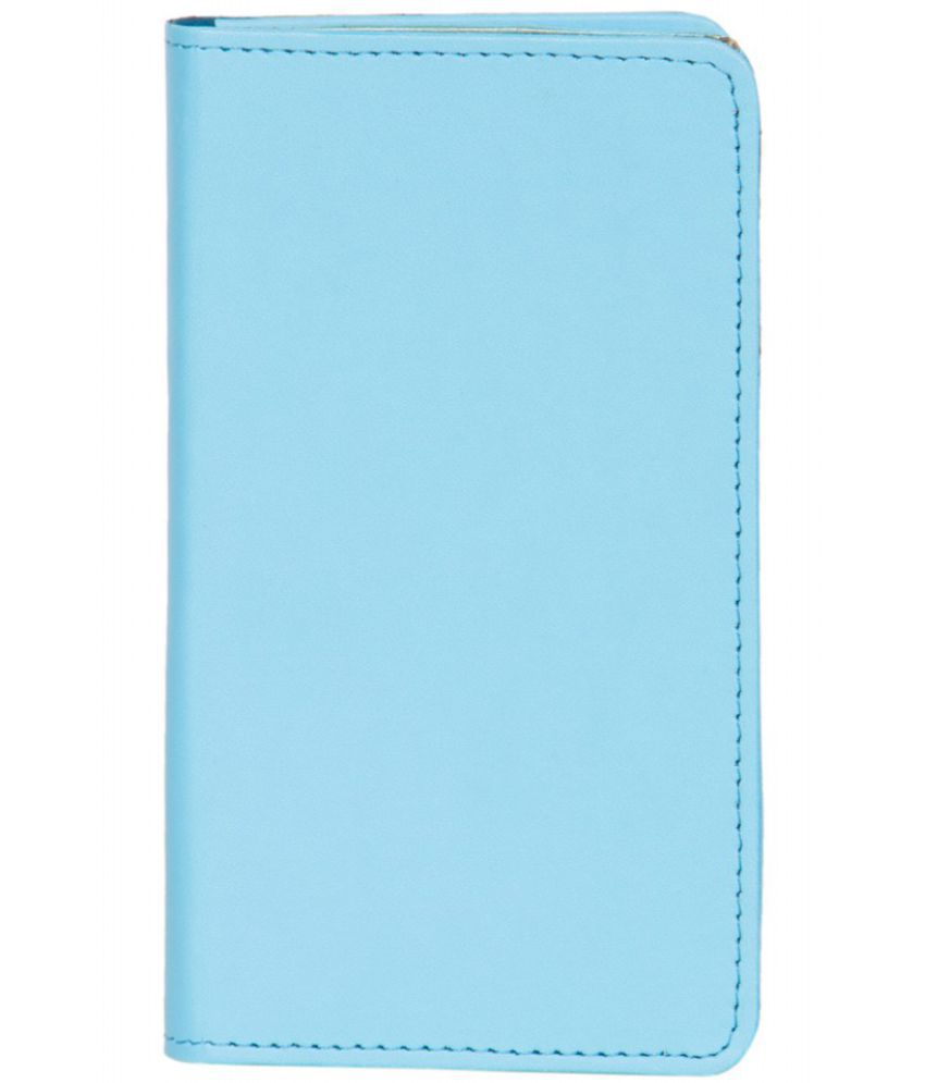 Micromax A116 Canvas HD Holster Cover by Senzoni - Blue