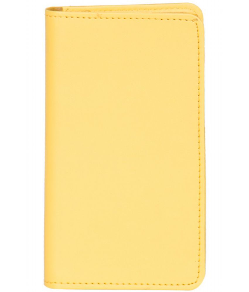 Micromax Canvas Juice 2 Holster Cover by Senzoni - Yellow