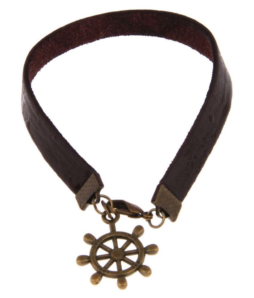 Jewelizer Brown Bracelet