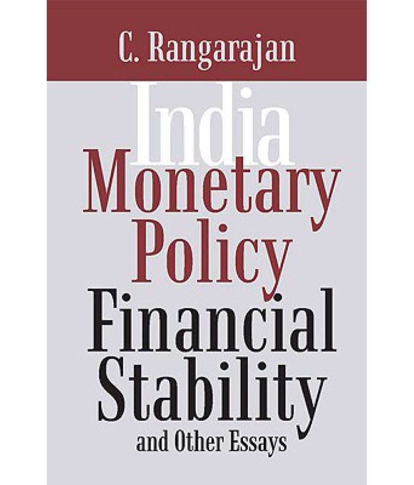 monetary policy financial stability and other essays buy monetary policy financial stability and other essays