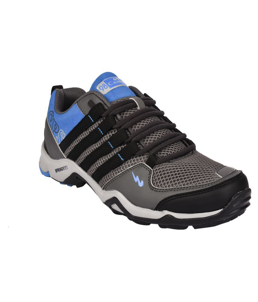 Campus Triggeer Gray Running Shoes