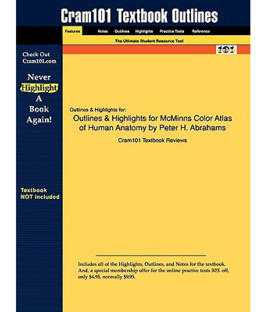 Outlines Highlights For Mcminns Clinical Atlas Of Human Anatomy