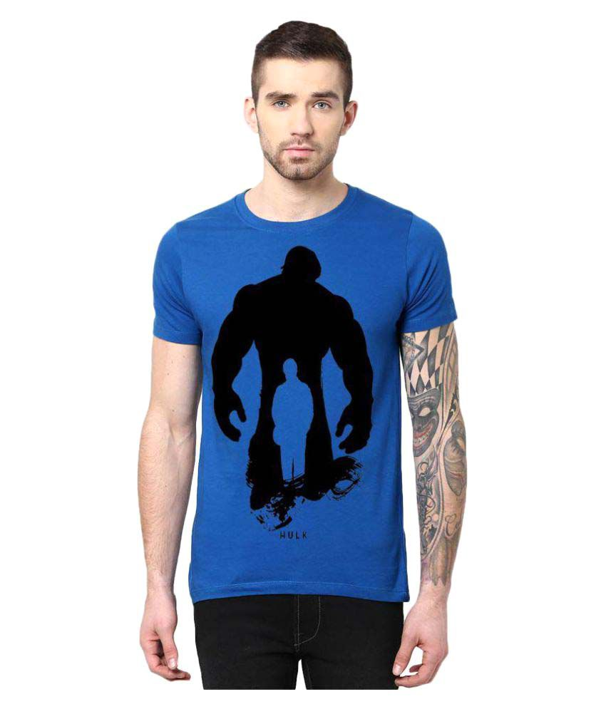 Gallop Blue Round T-Shirt