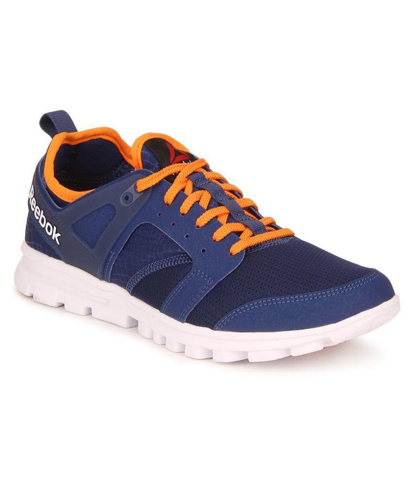 reebok amaze run blue running shoes buy reebok amaze run