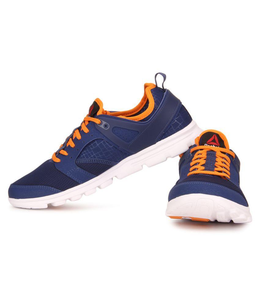c4b4ee017f1d ... Reebok AMAZE RUN Blue Running Shoes ...
