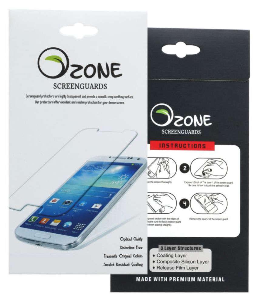 HTC Desire 728 Tempered Glass Screen Guard By OZONE