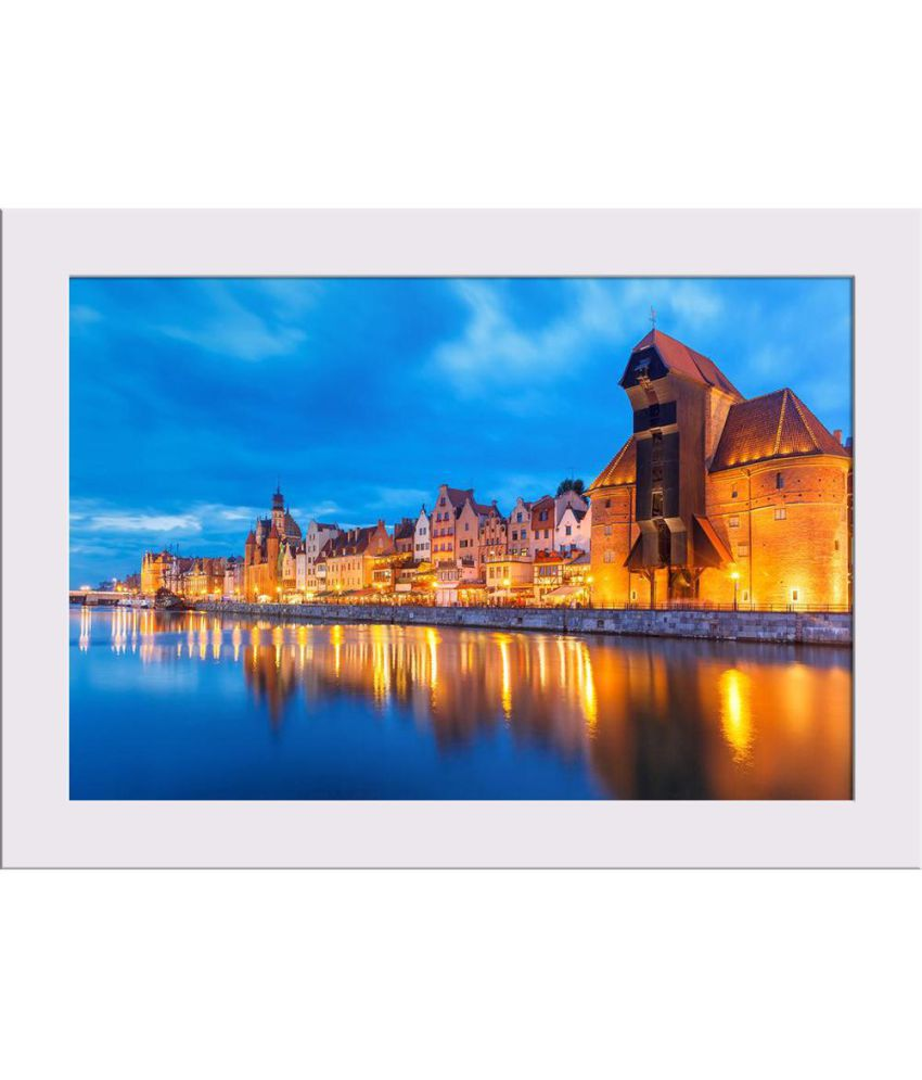 ArtzFolio Gallery Canvas Painting With Frame Single Piece