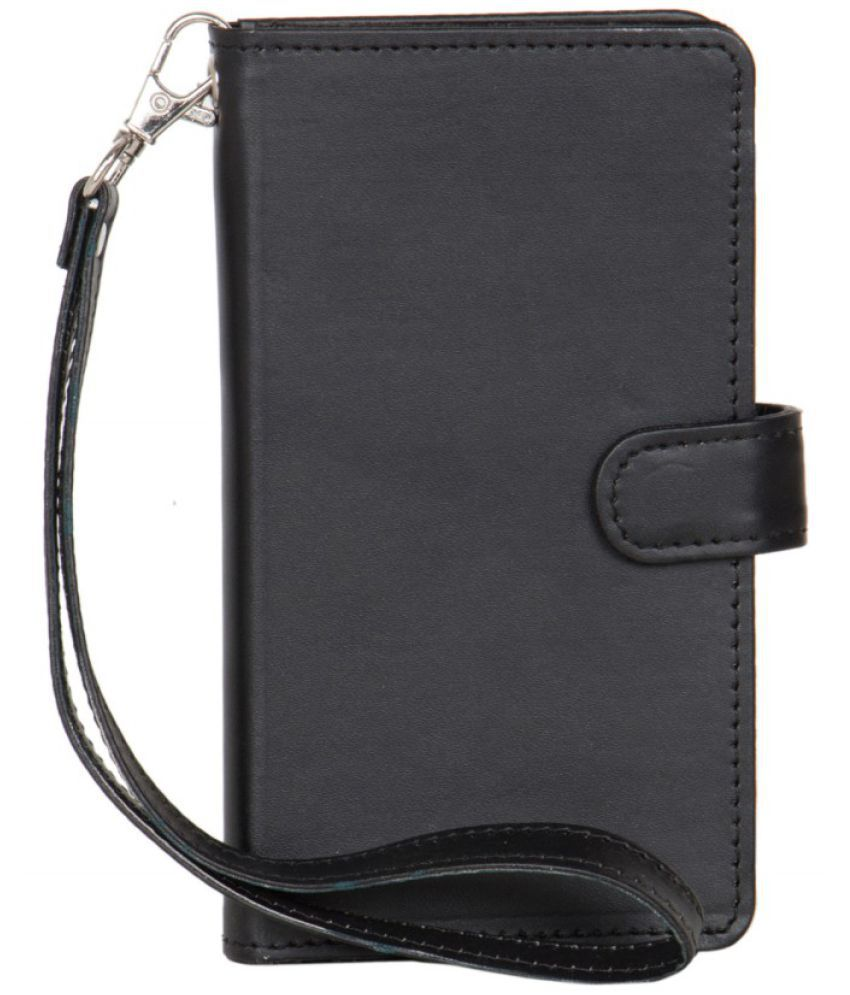Karbonn Fashion Eye Holster Cover by Senzoni - Black