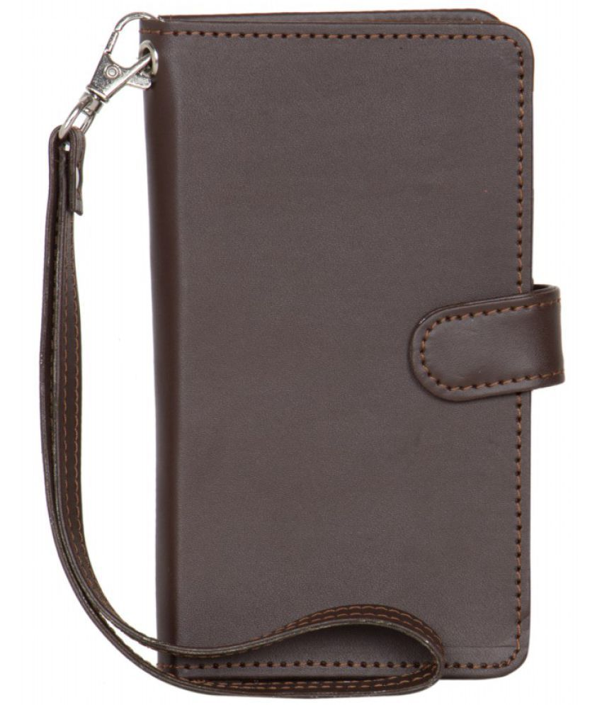 Micromax Bolt S301 Holster Cover by Senzoni - Brown