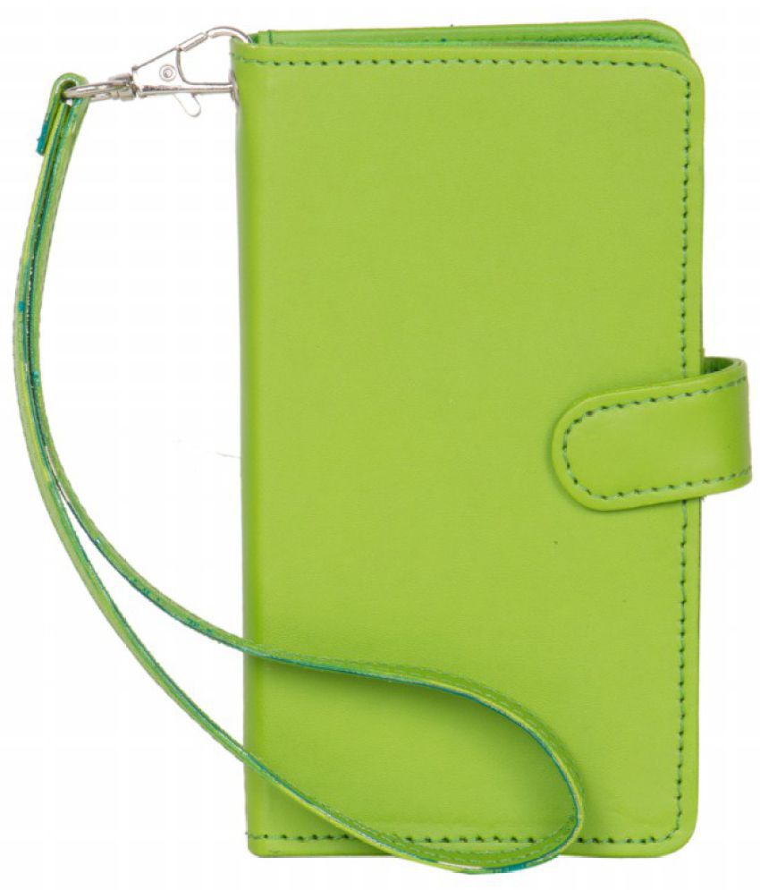 Intex Cloud Y13 Plus Holster Cover by Senzoni - Green