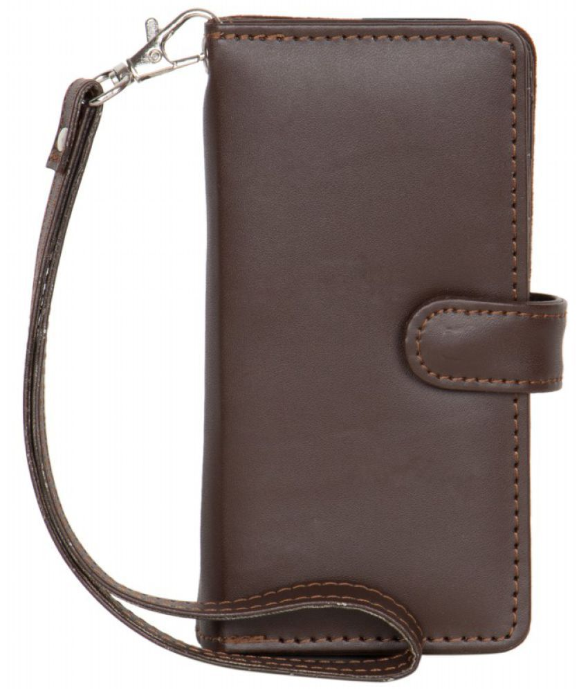 Vivo Y21L Holster Cover by Senzoni - Brown
