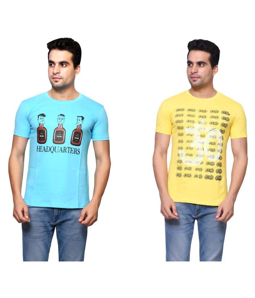 Oneliner Multi Round T-Shirt