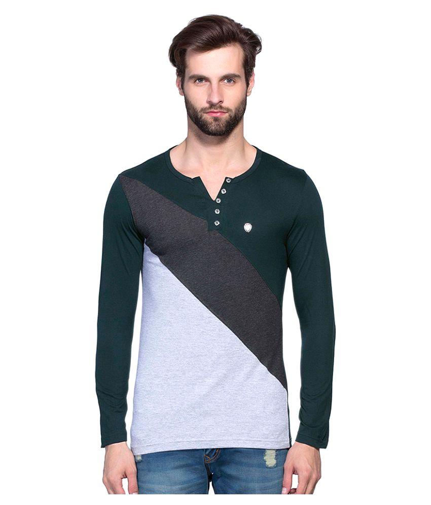 Maniac Multi Henley T-Shirt