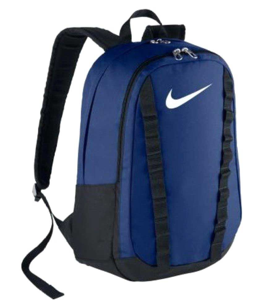 ebc96ff44eb2 Nike Blue Backpack - Buy Nike Blue Backpack Online at Low Price - Snapdeal
