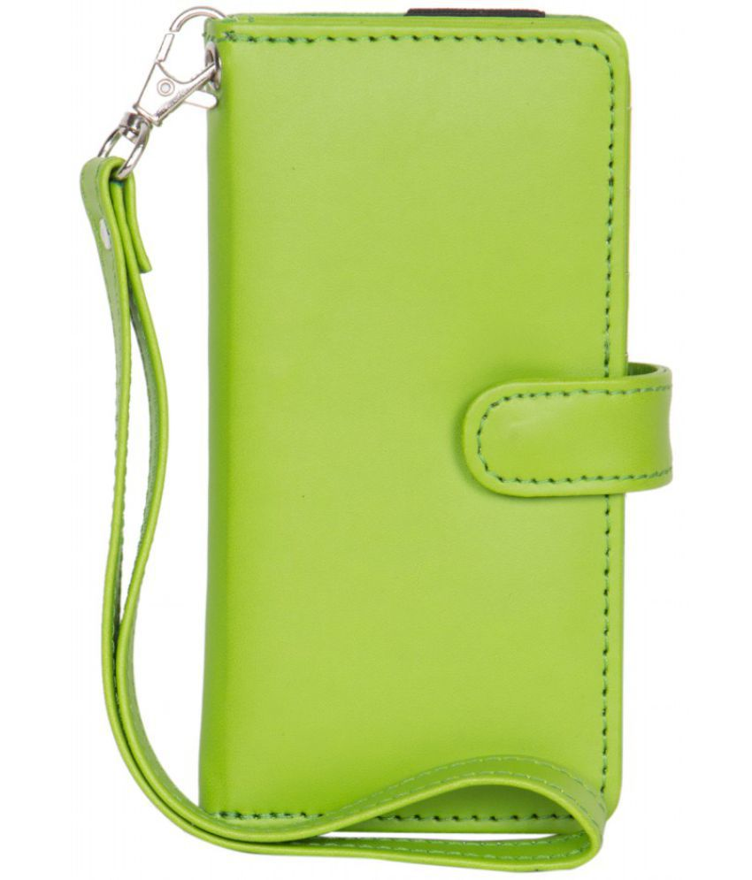 Micromax Bolt A27 Holster Cover by Senzoni - Green