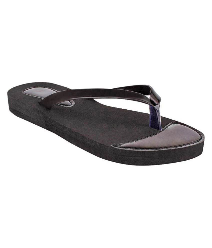 Fashion Victory Black Slippers