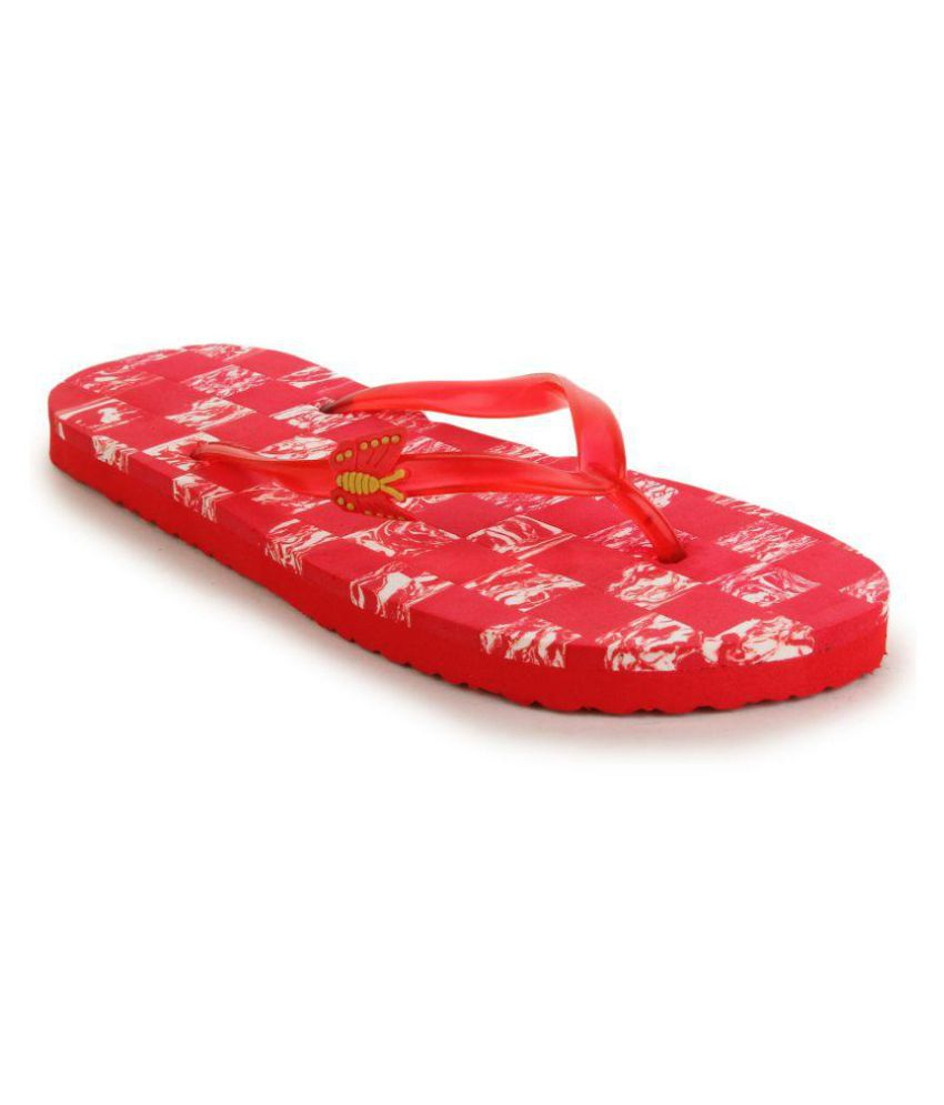 Fashion Victory Red Slippers