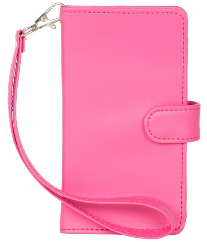 Karbonn A19 Holster Cover by Senzoni - Pink