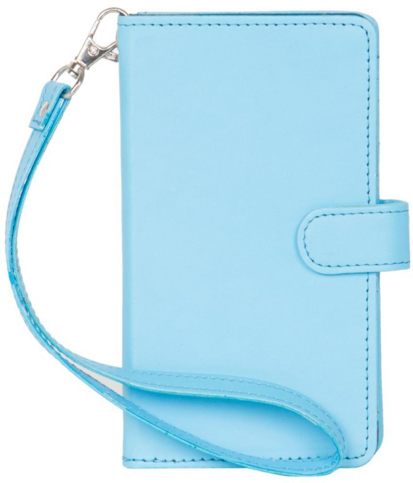 Micromax Canvas 2 A120 Holster Cover by Senzoni - Blue