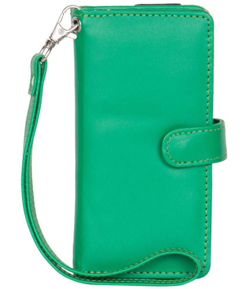 Micromax Q450 Holster Cover by Senzoni - Green