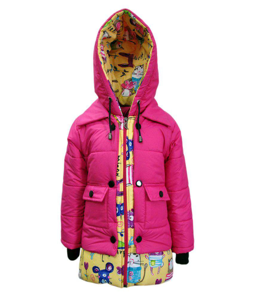 Come In Kids Girl's Multicolour Jacket