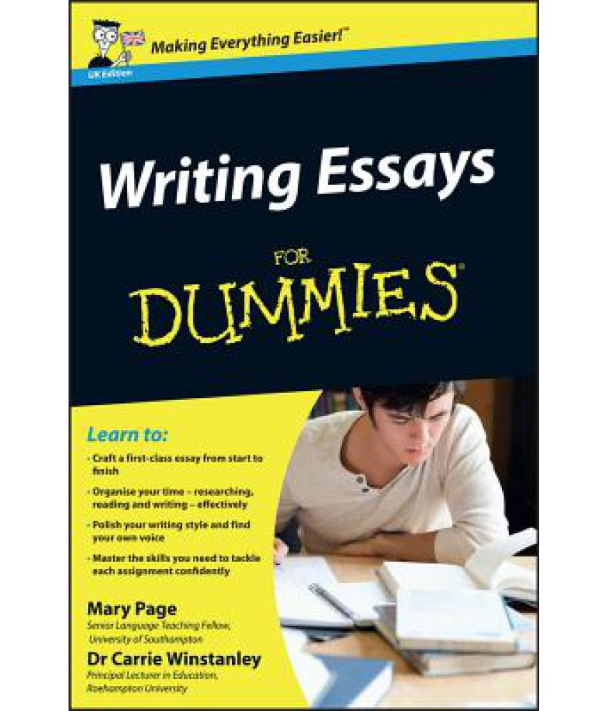 Help writing a essay for college dummies