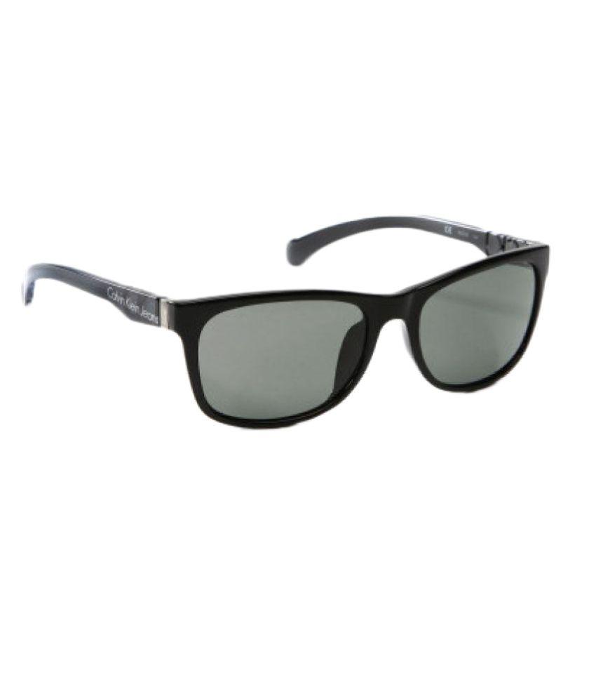 097a72e782e Calvin Klein Grey Wayfarer Sunglasses CKJ741S 001 available at SnapDeal for  Rs.6150