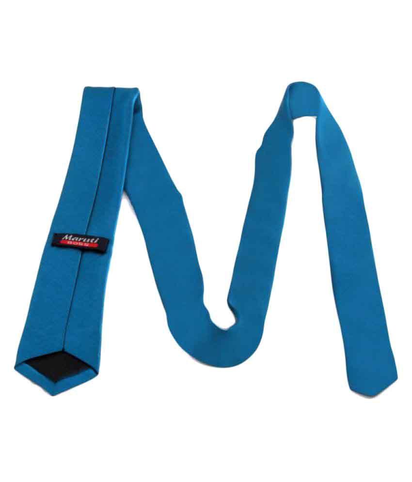Maruti Tie Blue Formal Necktie
