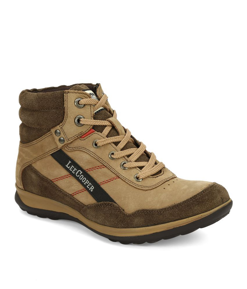 Lee Cooper LC2096 Lifestyle Brown Boots