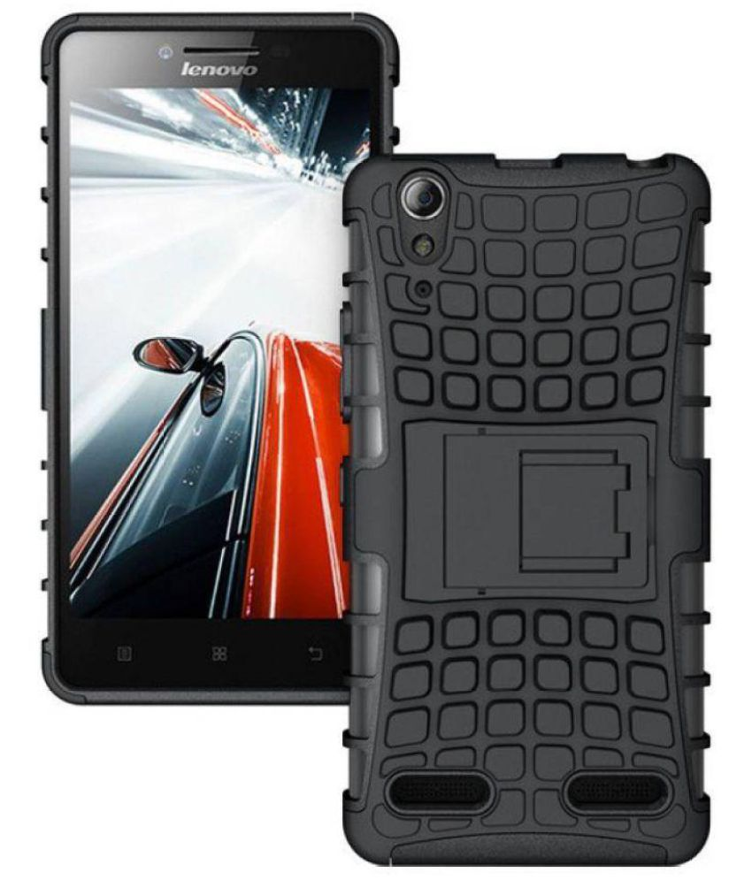 Lenovo A6000 Cases with Stands Foxyy - Black