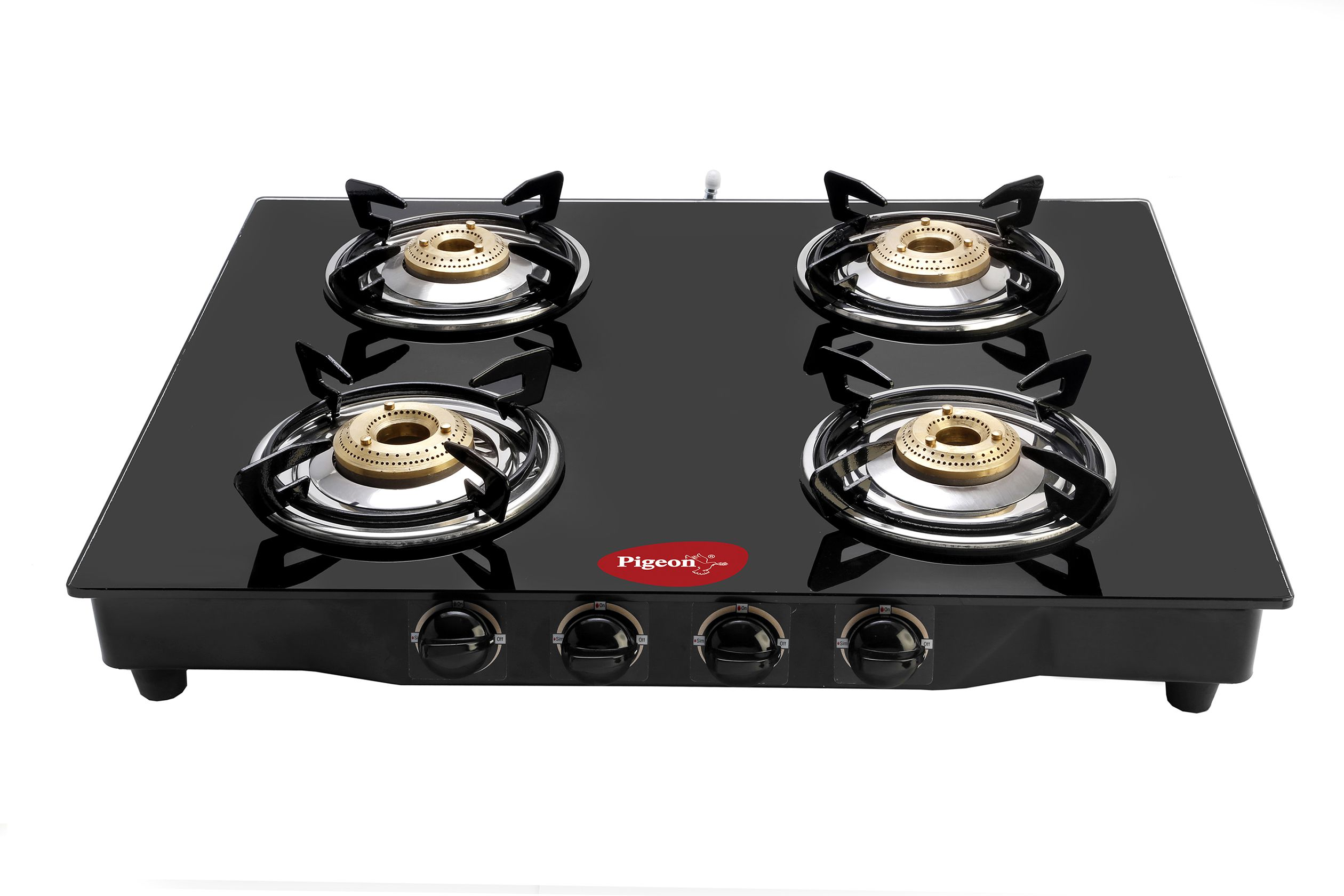 pigeon blackline 4 burner manual gas stove price in india buy pigeon blackline 4 burner manual. Black Bedroom Furniture Sets. Home Design Ideas