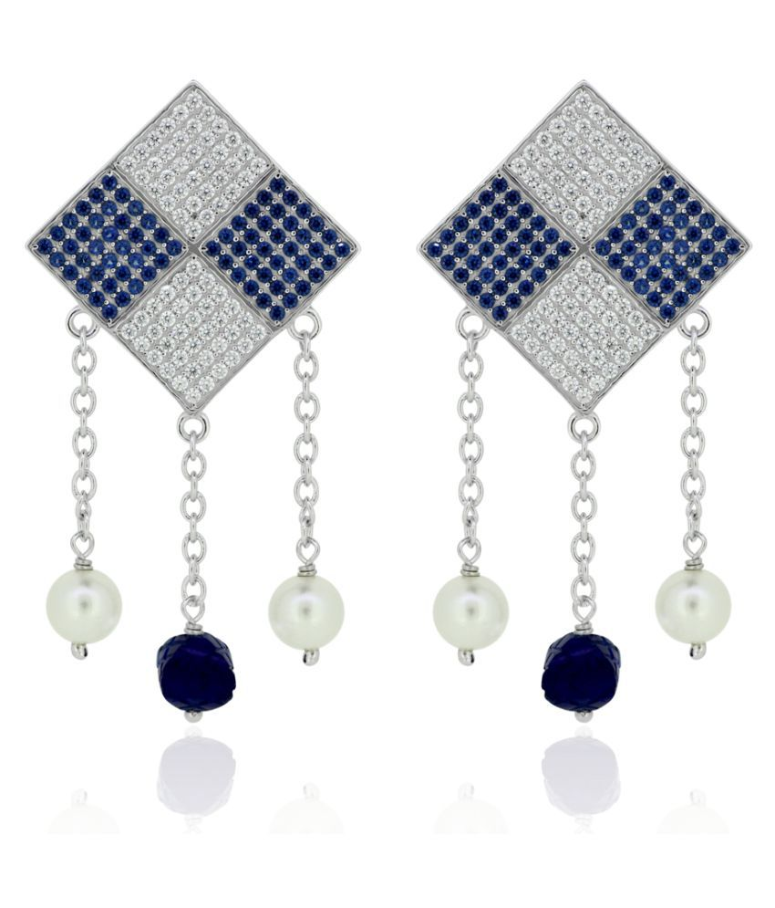 Joal 92.5 BIS Hallmarked Silver Cubic zirconia Hangings