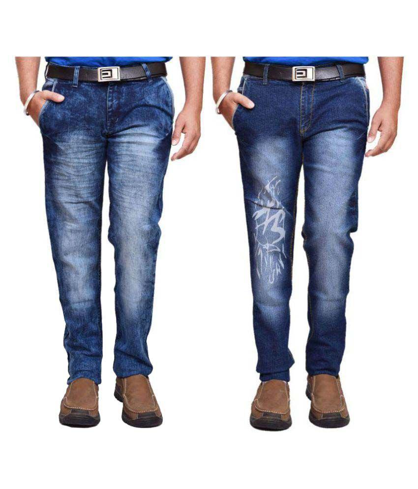 British Terminal Blue Slim Jeans