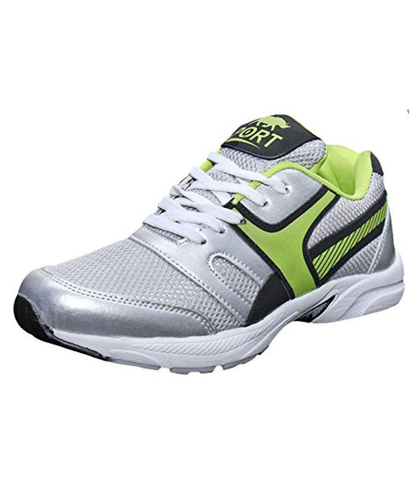 Port Men's Aiden Green Mesh Outdoor Sports Shoes