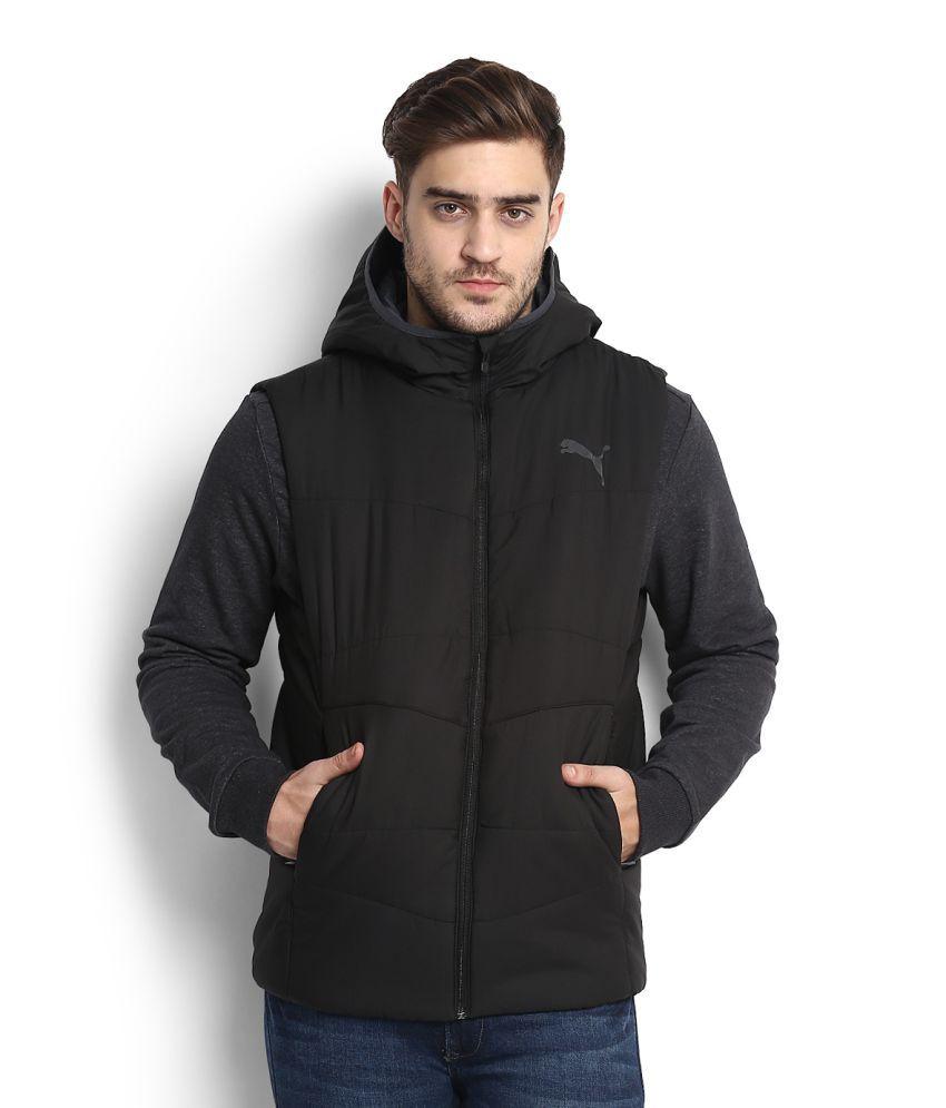 Puma Black Casual Jacket
