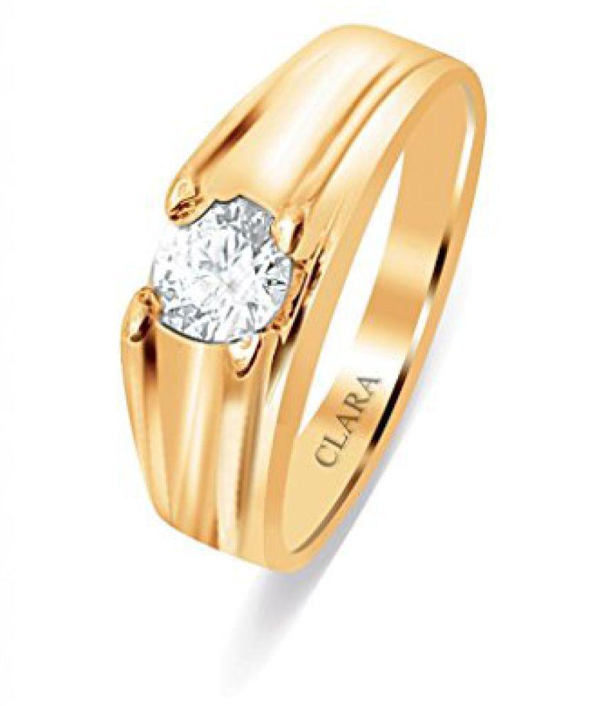 Clara Swarovski The Leandro Sterling Silver Ring For Men