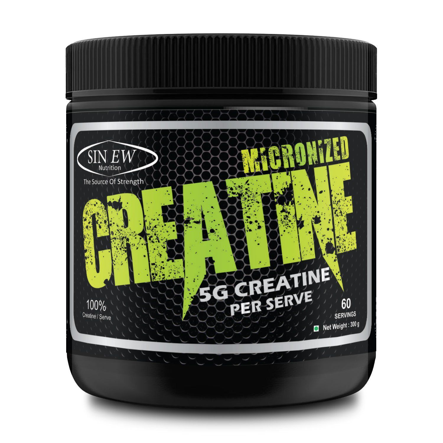 sinew nutrition micronised monohydrate creatine 0 66lb 300 gm buy