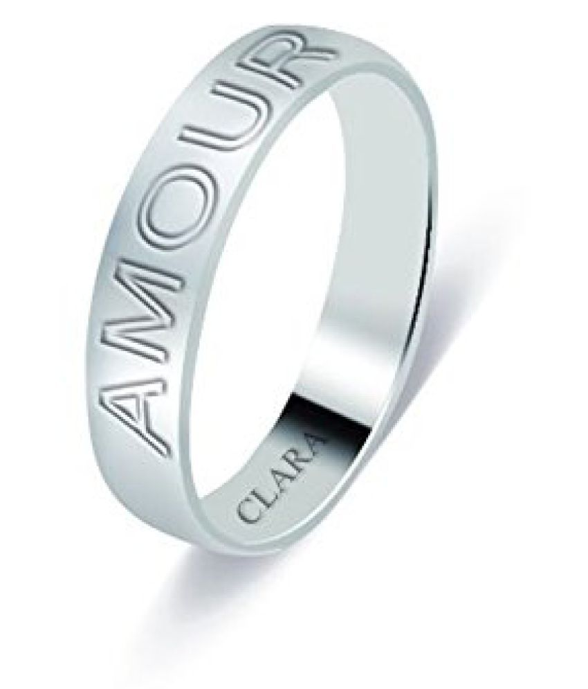 Clara The Amour Sterling Silver Ring For Men