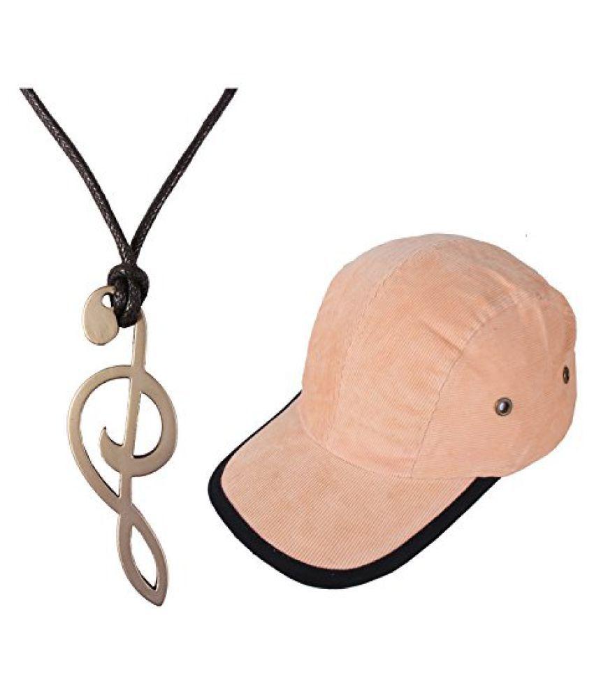 Music Sign Pendent Necklace Combo Codra Cap