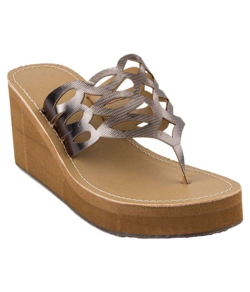 SandHill Gray Wedges Heels