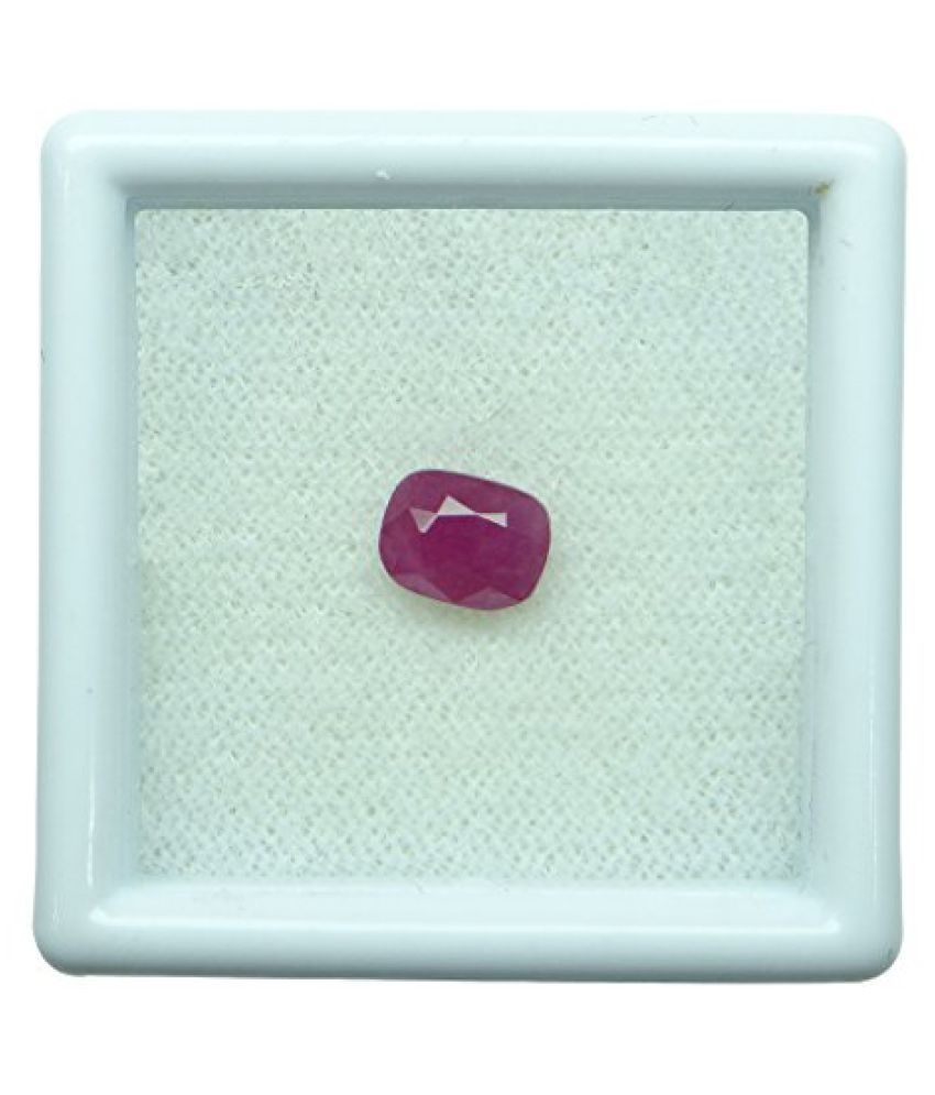0.85 ct. / 0.94 Ratti BURMESE NATURAL & IIGS CERTIFIED RUBY (MANIK) ASTROLOGI...
